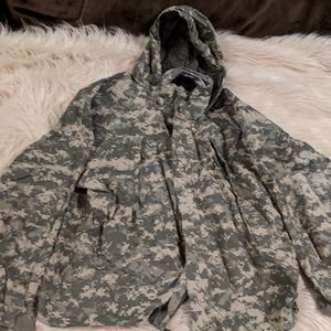 Army Issued GoreTex Allweather Coat